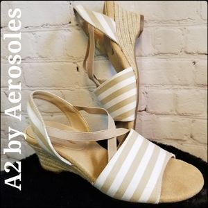 A2 by Aerosoles Espadrille Comfort Sandals, 6.5